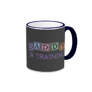 Daddy In Training Ringer Coffee Mug