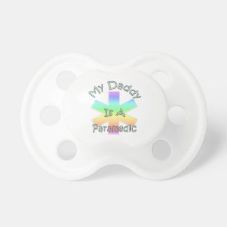 Daddy Is A Paramedic BooginHead Pacifier