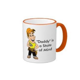 """""""Daddy"""" is a Stand of Mind Mug"""