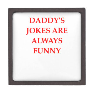 DADDY KEEPSAKE BOX