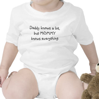 Daddy knows a lot, but MOMMY knows everything Tees