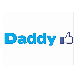 Daddy Like Postcard