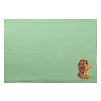 Daddy Lion and Son Placemat