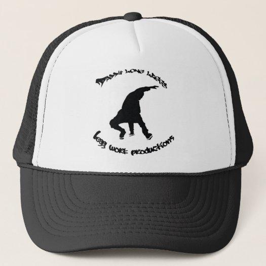 DADDY LONG LEGGS/LEGGWORK VINTAGE B-BOY HAT (B/W) hats