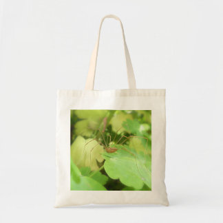 Daddy Long Legs In The Garden Budget Tote Bag