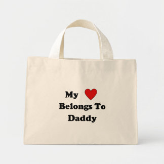 Daddy Love Canvas Bags