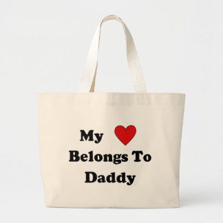 Daddy Love Canvas Bag