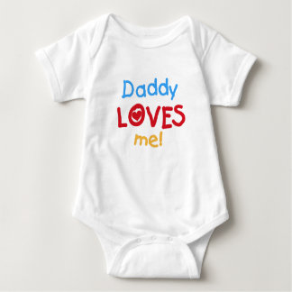 Daddy Loves Me Baby Bodysuit