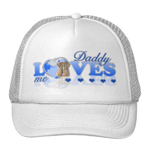 Daddy loves me(blue) trucker hat