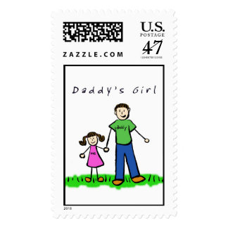 Daddy & Me (Brunette) Stamp