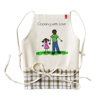 Daddy & Me Custom Father and Daughter Family Apron