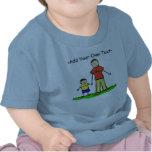 Daddy & Me Little Boy Shirt Brunette (Both Sides)