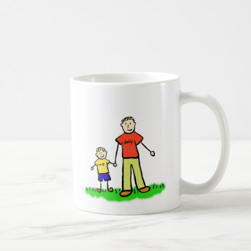 Daddy & Me Mug (Blond with No Title)