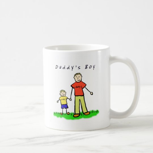 Daddy & Me Mug (Blond with Title)
