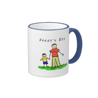 Daddy & Me Mug (Brunette with Title)