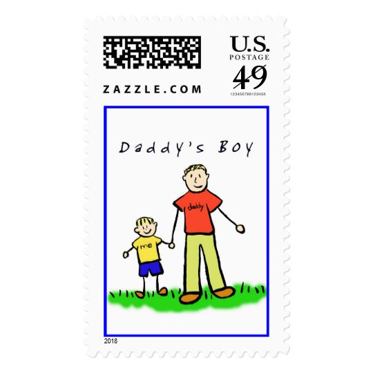 Daddy & Me Stamp (Blond with Title)