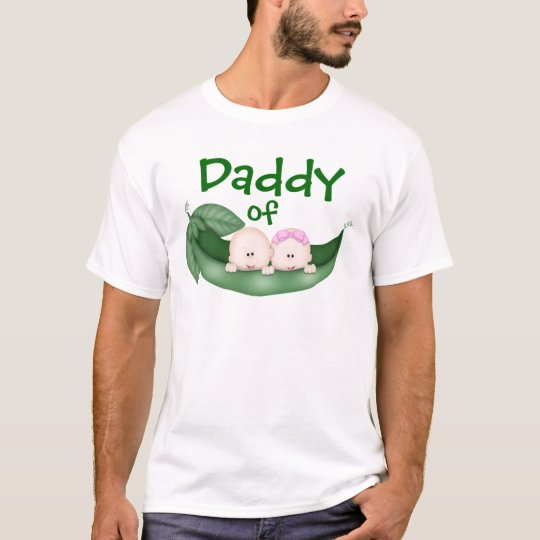 Daddy of Mixed Twins T-Shirt
