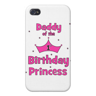 Daddy of the 1st Birthday Princess! iPhone 4 Case