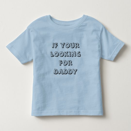 Daddy on couch toddler t-shirt