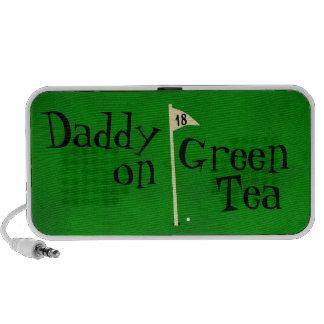 Daddy on green tea, go green mini speaker