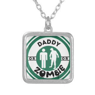 Daddy or Zombie Personalized Necklace
