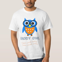 DADDY OWL- Baby DADDY Matching Family T-Shirt