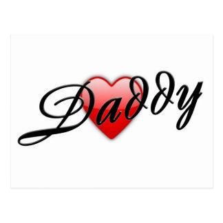 Daddy Postcard
