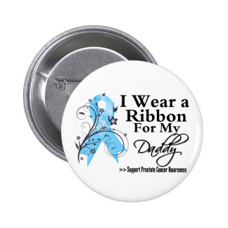 Daddy Prostate Cancer Ribbon Pin