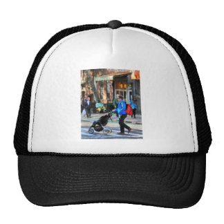 Daddy Pushing Stroller Greenwich Village Trucker Hat
