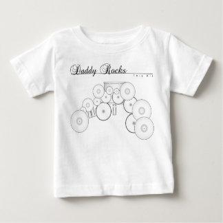 Daddy Rocks... This Kit Baby T-Shirt