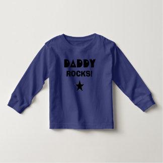 Daddy  ROCKS! Toddler T-shirt