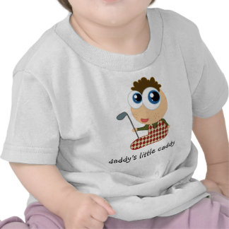 Daddy s Little Caddy Kids Tee Shirt