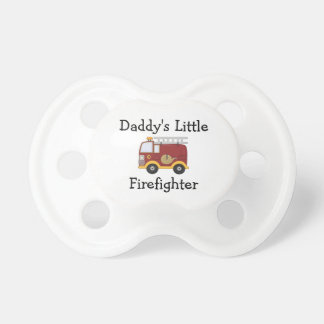 Daddy s Little Firefighter Baby Pacifier