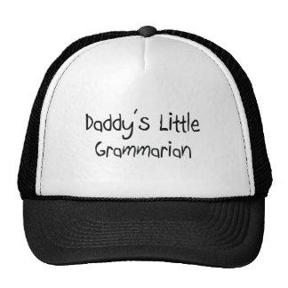 Daddy s Little Grammarian Mesh Hat