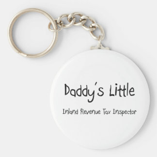 Daddy s Little Inland Revenue Tax Inspector Key Chain
