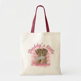 Daddy`s little Princess Canvas Bags