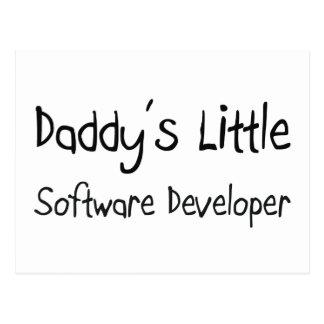 Daddy s Little Software Developer Postcard