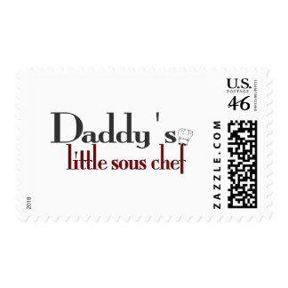 Daddy s little sous chef postage
