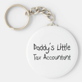 Daddy s Little Tax Accountant Keychain