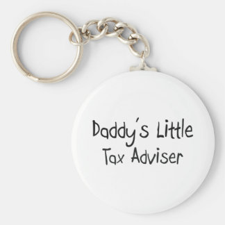 Daddy s Little Tax Adviser Key Chains