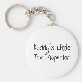Daddy s Little Tax Inspector Key Chain