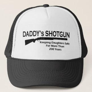 Daddy's Shotgun Trucker Hat