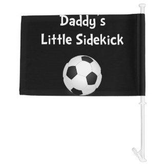 Daddy�s Sidekick Soccer Car Flag