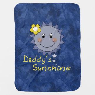Daddy´s Sunshine Receiving Blanket