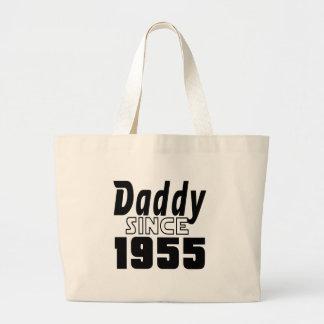 Daddy Since 1955 Jumbo Tote Bag