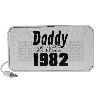 Daddy Since 1982 Notebook Speakers
