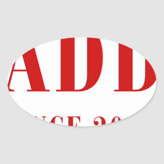 daddy-since-2013-bod-burg.png oval sticker