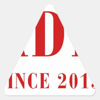 daddy-since-2013-bod-burg.png calcomanías de triangulos personalizadas