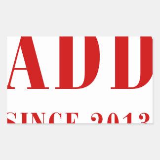 daddy-since-2013-bod-burg.png rectangular sticker