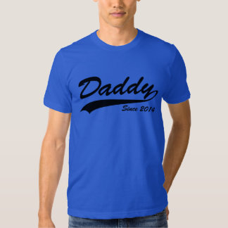 Daddy Since 2014 T Shirt